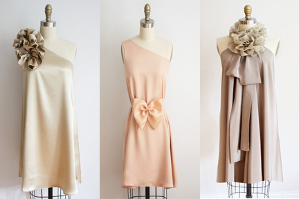 Posted in Blush Wedding Inspiration Bridesmaid Dresses